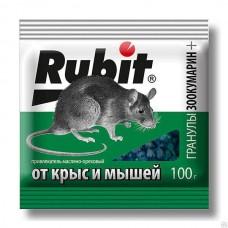 Рубит Зоокумарин + гран.орех 100г (50шт) Летто