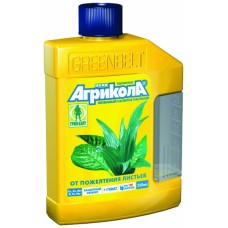 Агрикола Аква от пожелтения листьев (фл.250мл)(25шт) 04-447 Тех