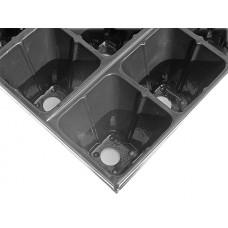 Рассадная кассета 15 ячеек конус (V350см.куб) (толщ 1мм)Таганрог