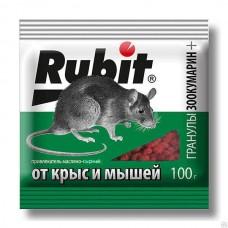 Рубит Зоокумарин + гран.мас-сыр 100г (50шт) Летто