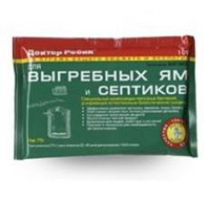 Биоочиститель д/выгребных ям 75г Д.Робик(36шт)
