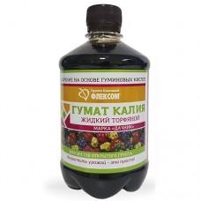 Гумат калия жидк.торфяной 0,45л для цветов открытого грунта (24шт)