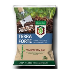 """Грунт """"Здоровая земля""""(Terra Forte) 10л универс.(5шт) Фарт"""