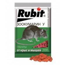 Рубит Зоокумарин + гран.мас-сыр 200г (35шт) Летто