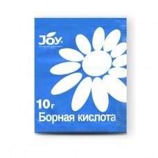 Борная кислота 10г (40шт) JOY