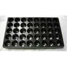Рассадная кассета 40 ячейки круг (Vяч 110мл)(п/м)(100шт)