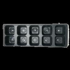 Рассадная кассета мини 10 ячеек(Vяч 140мл) (50шт)