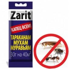 Зарит Зиндан гель от тараканов и муравьев 30г (25шт) Летто