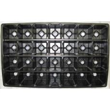 Рассадная кассета 28 ячеек квадр (Vяч 280мл)(п/м)(80шт)