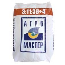 Удобрение АгроМастер (коричн.)(3-11-38)+4(25кг/м) в кг (цена за 1 кг.)  АгроМ