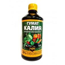 Удобрение МЕРА Гумат калия овощной с фульвокислотами 0,5л (12шт)